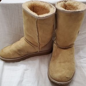 UGG boots  - camel size 7